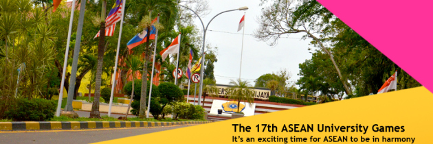Welcome to the 17th ASEAN University Games in Palembang
