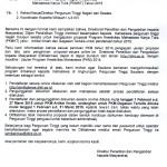 PENERIMAAN PROPOSAL PROGRAM KREATIVITAS MAHASISWA KARYA TULIS (PKMK) TAHUN 2015