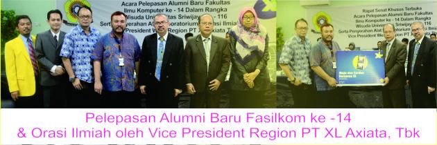 Pelepasan Alumni Baru ke – 14 & Orasi Ilmiah oleh Vice PT. XL Axiata, Tbk
