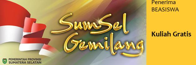 Pengumuman Penerima Beasiswa Kuliah Gratis Pemprov Sumsel (Update)