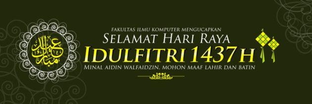 Salam Hari Raya Idul Fitri