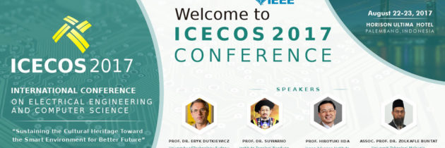 Call for Papers ICECOS 2017