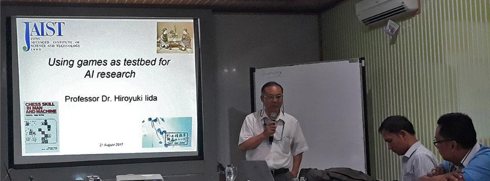 [Short Talk] Prof. Dr. Satoshi Tojo & Prof. Dr. Hiroyuki Iida