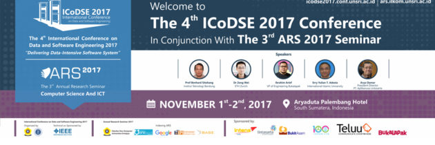 Conjunction Conference : ICoDSE & ARS 2017